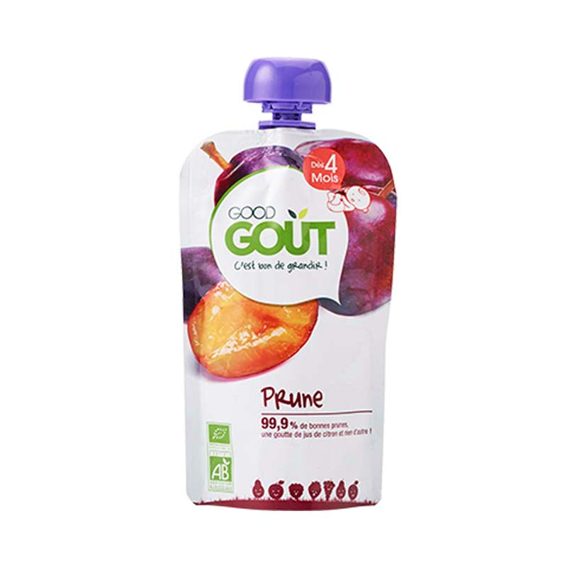 Good Gout Fruit Pouch - Plum (4mos)