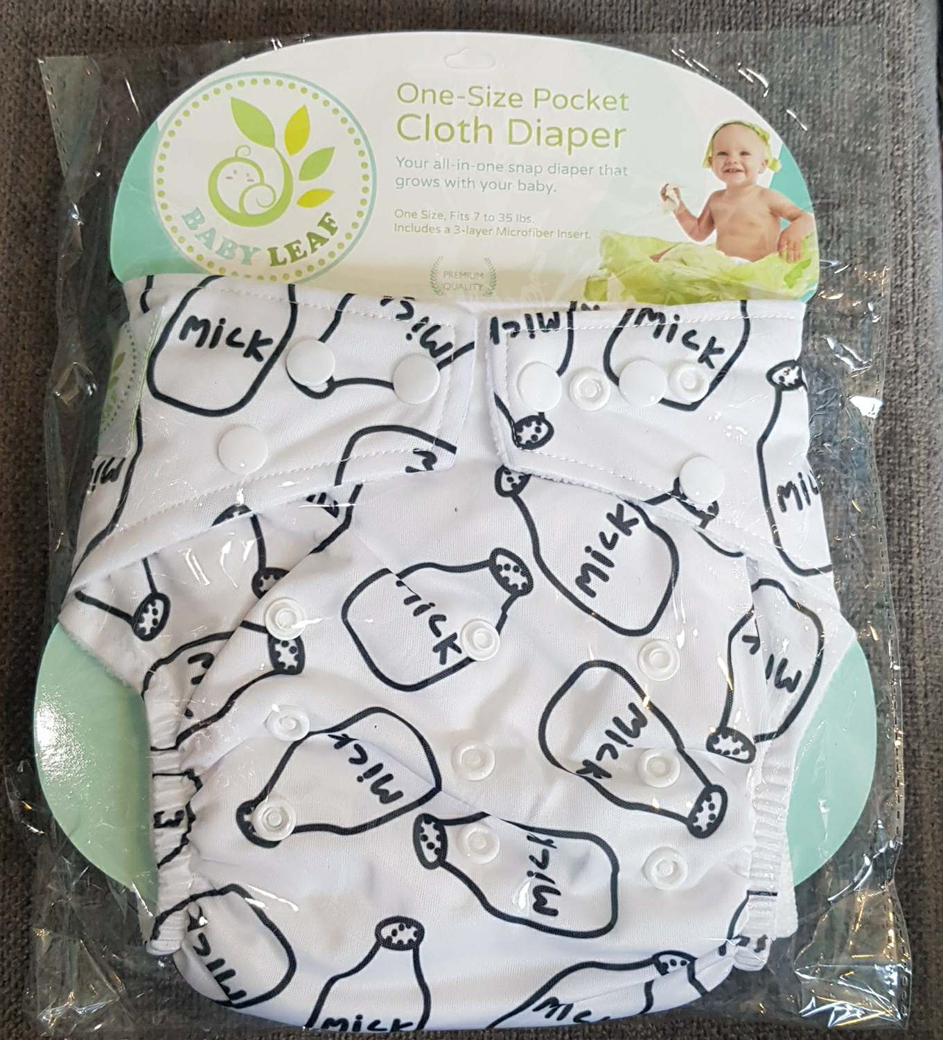 Got Milk? One-Size Cloth Diapers
