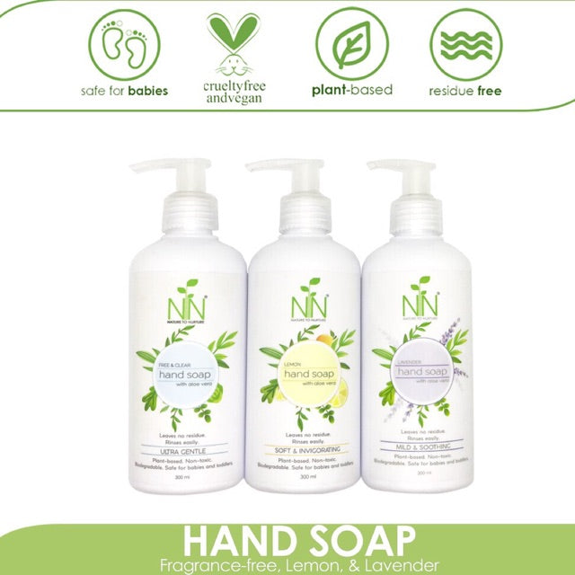 Nature to Nurture Hand Soap 300ml