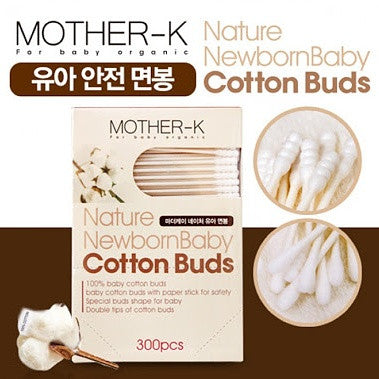 Mother-K Nature Newborn Cotton Buds