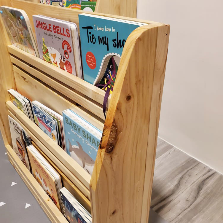The Nest Play & Learn Jericho 3-layer Stand alone Book Display