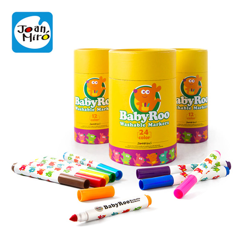 Joan Miro Baby Roo Washable Markers