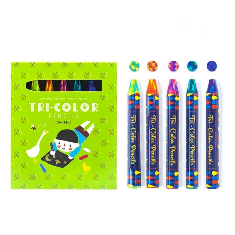 Joan Miro Tri-Colors Pencil