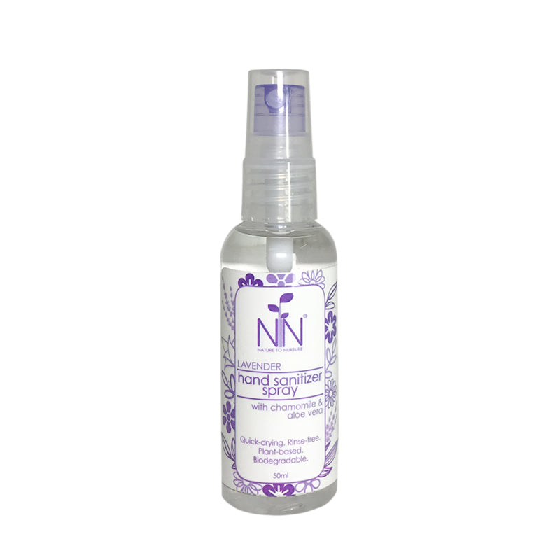 Nature to Nurture Hand Sanitizer Spray With Chamomile & Aloe Vera 50ml