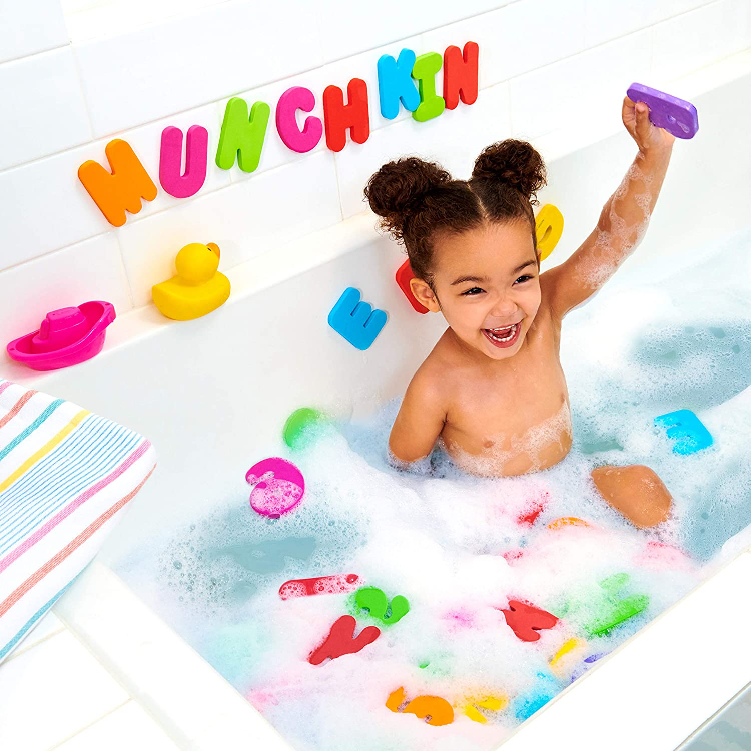 Munchkin Learn Bath Letters & Numbers