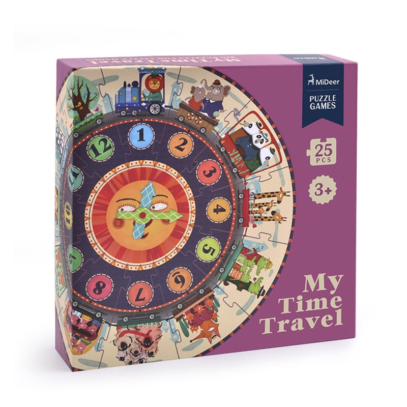 Mideer My Time Travel Clock Puzzle