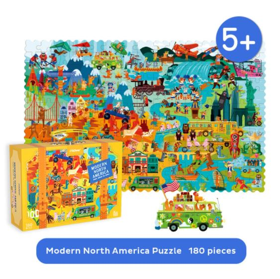 Mideer Travel Around The World Puzzle