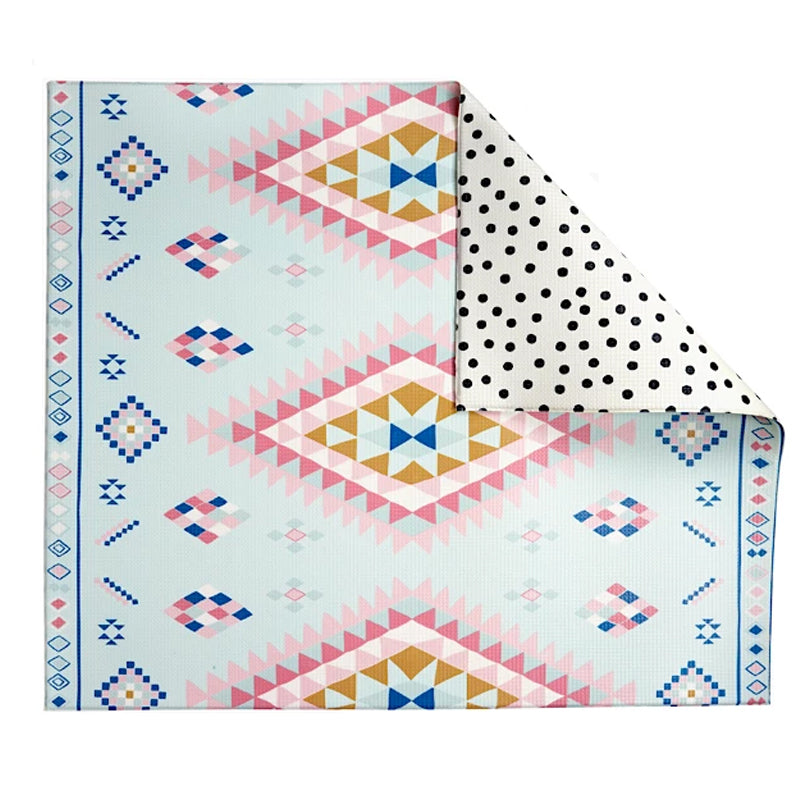 Play with Pieces Moroccan Rug/ Polka Dot Play Mat