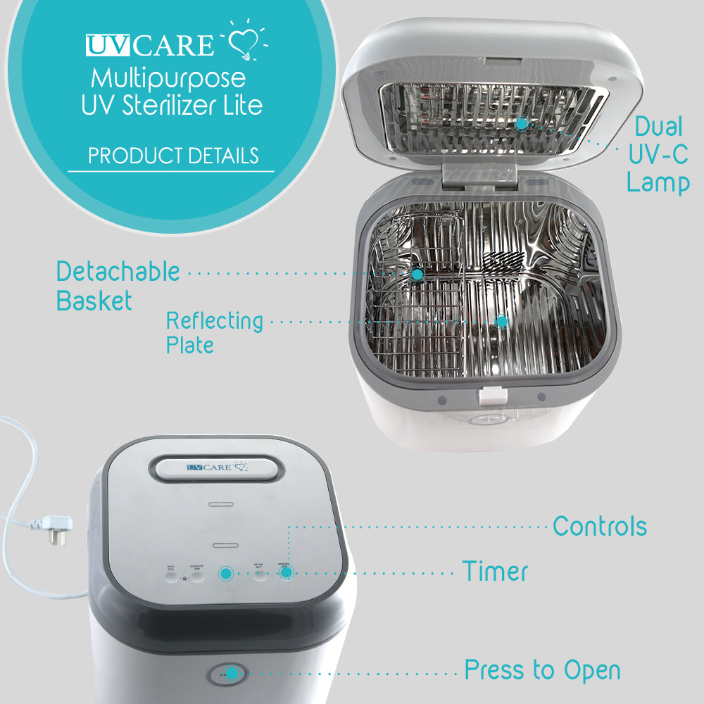Multi-Purpose Box Sterilizer Lite with Free Carry Bag