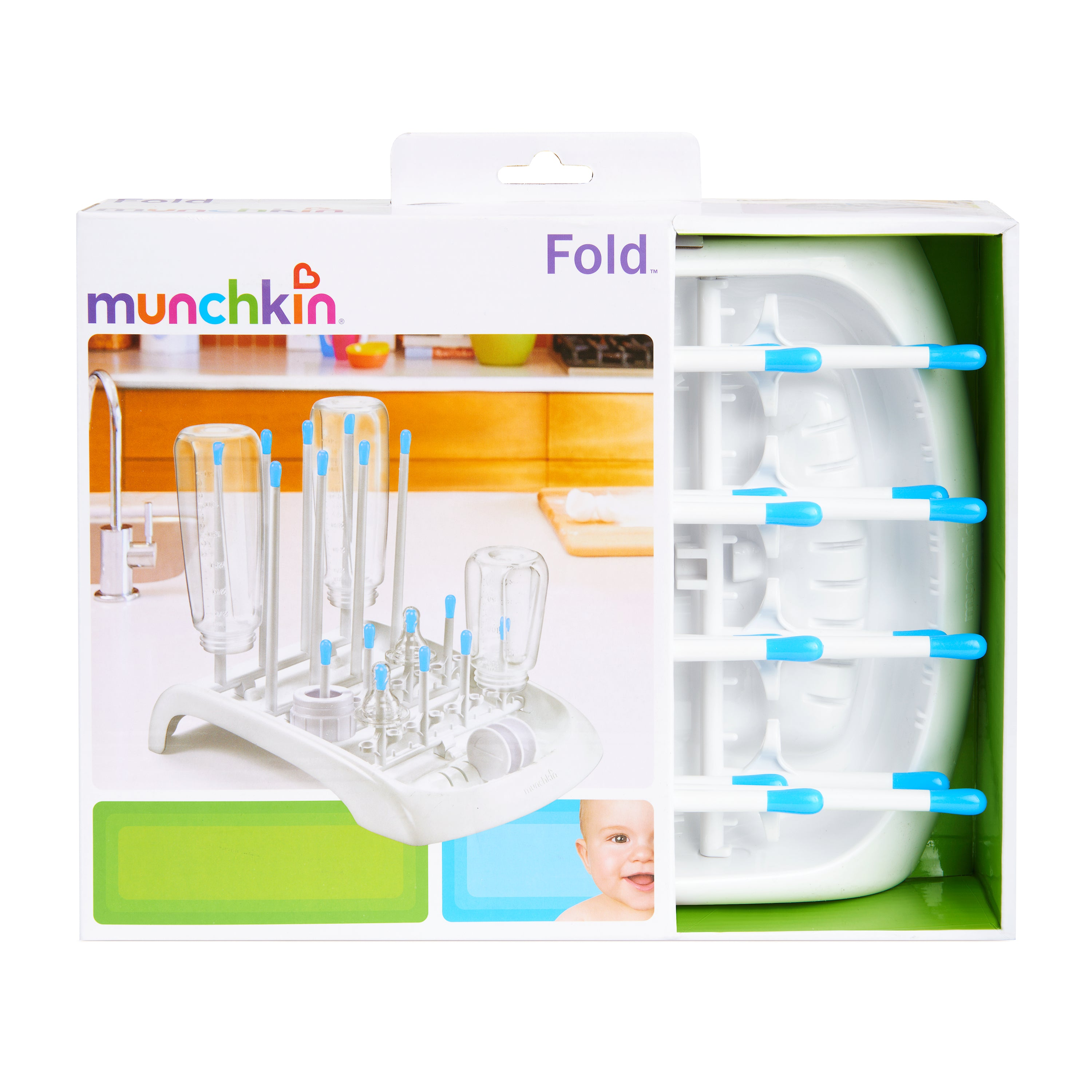 Munchkin Fold Bottle Drying Rack