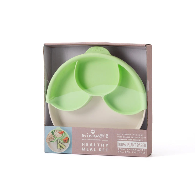 Miniware Healthy Meal Plate Set