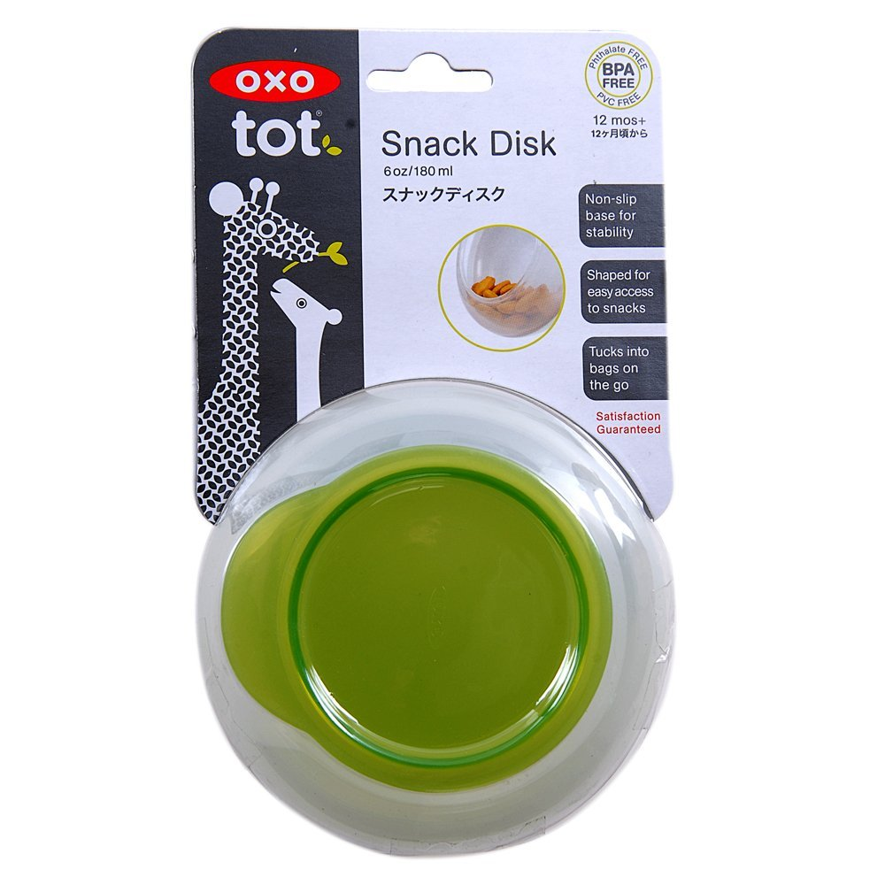 Oxo Tot Snack Disk With Snap On Lid