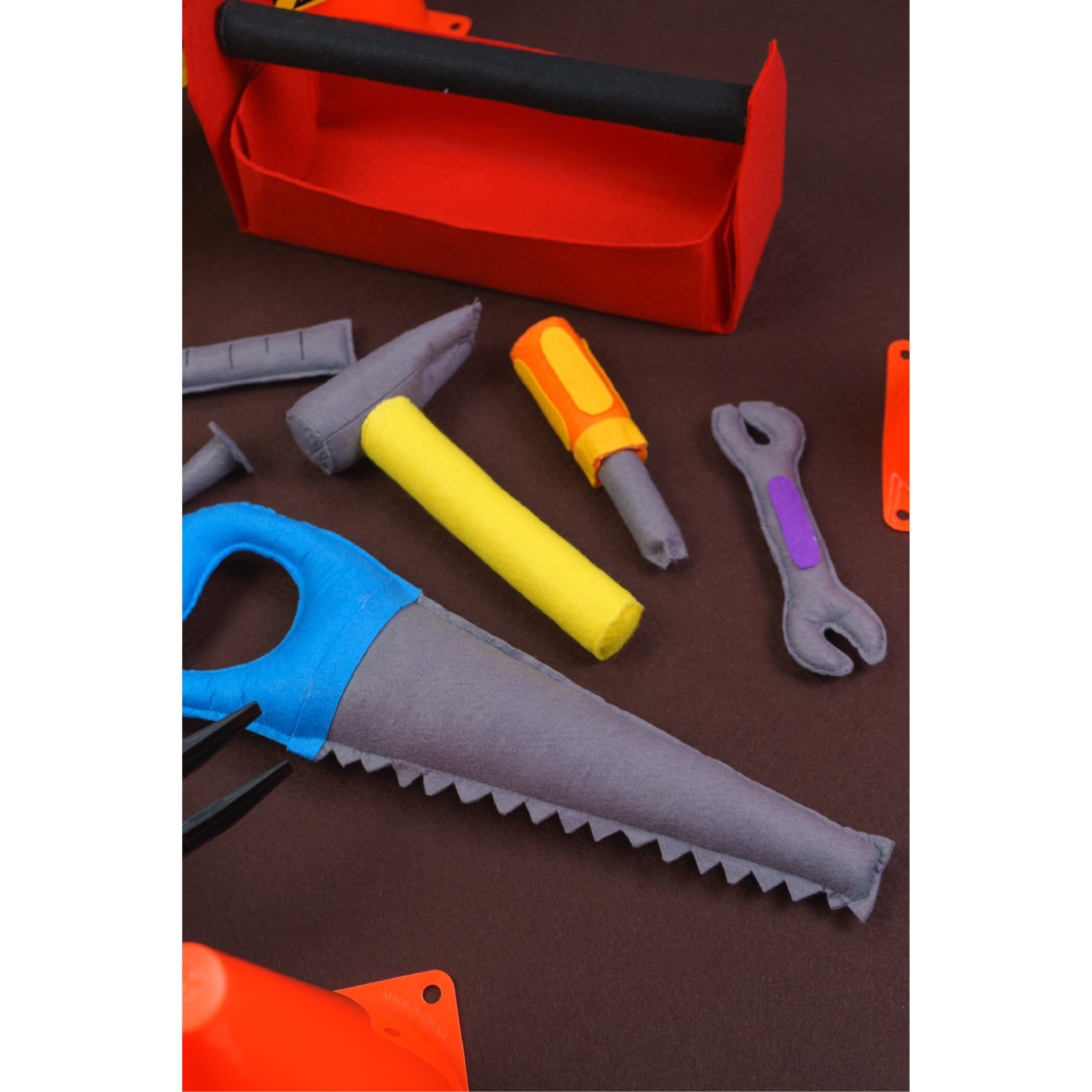 Play Factory Toolbox with 7-pc Toolset