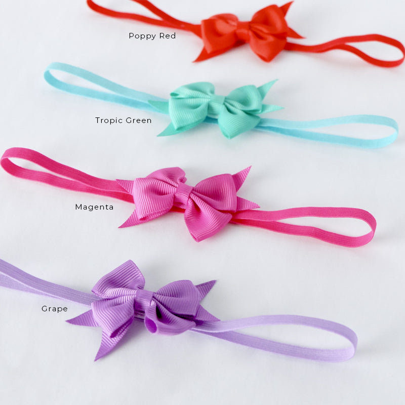Style Me Little Petite Signature Bow Headband - SS 2019