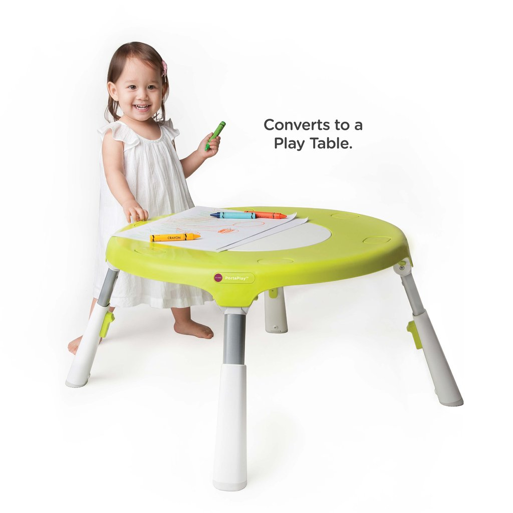 Oribel PortaPlay Convertible Activity Center Forest Friend with Stools (green)