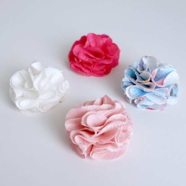 Style Me Little Rosy Jacquard Flower - Single | Clip