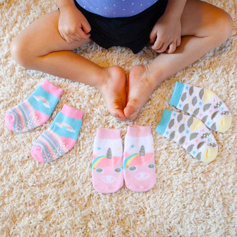 Zoocchini Three Piece Comfort Terry Socks Set