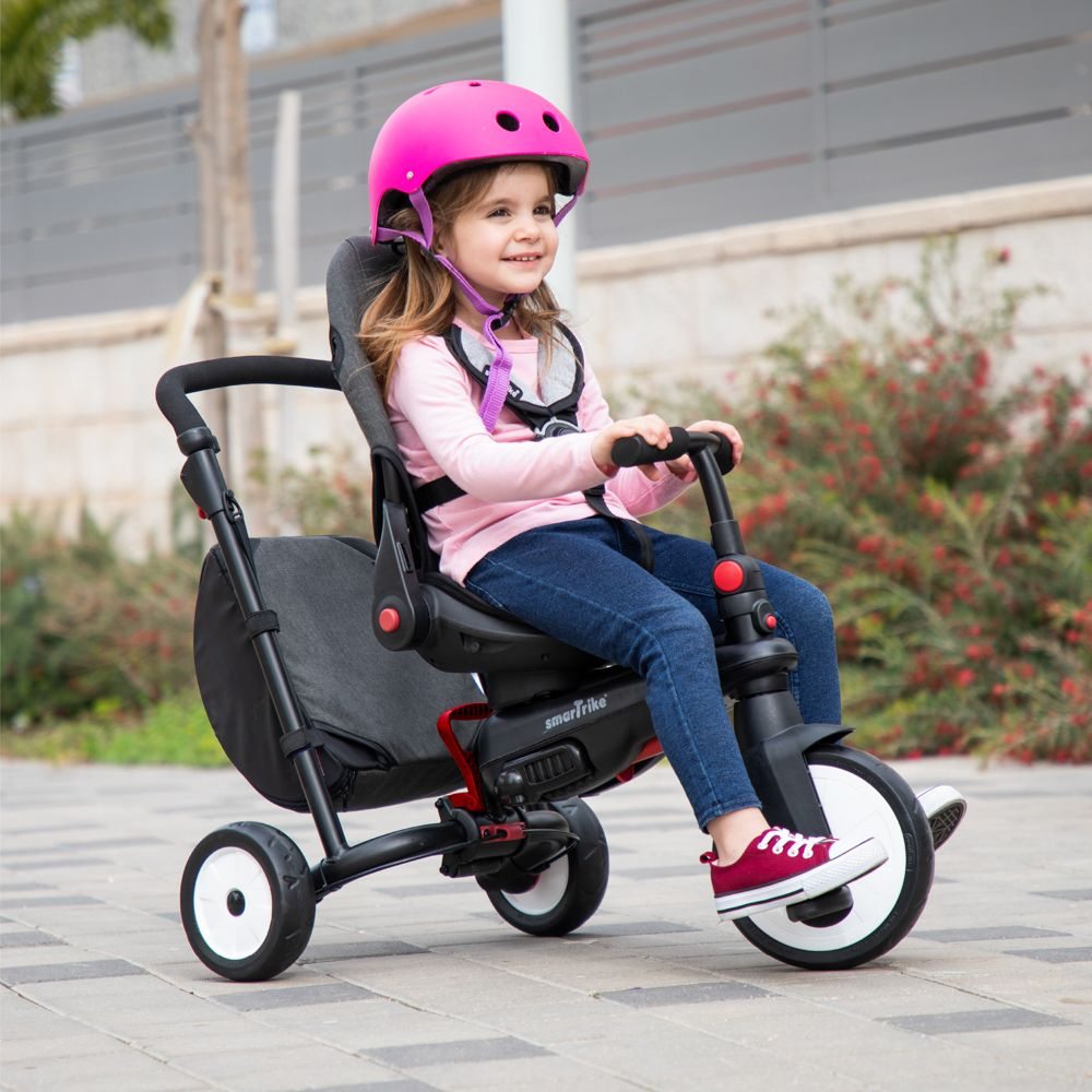 SmarTrike STR7 7 in 1 Folding Trike | Vibe Gray