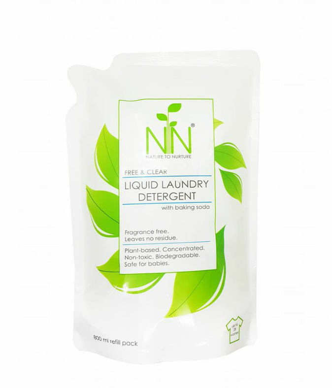 Nature to Nurture Free & Clear Liquid Laundry Detergent