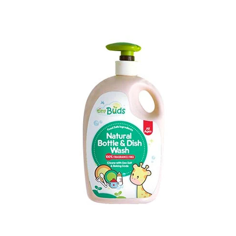 Tiny Buds Natural Dish & Bottle Wash Fragrance Free