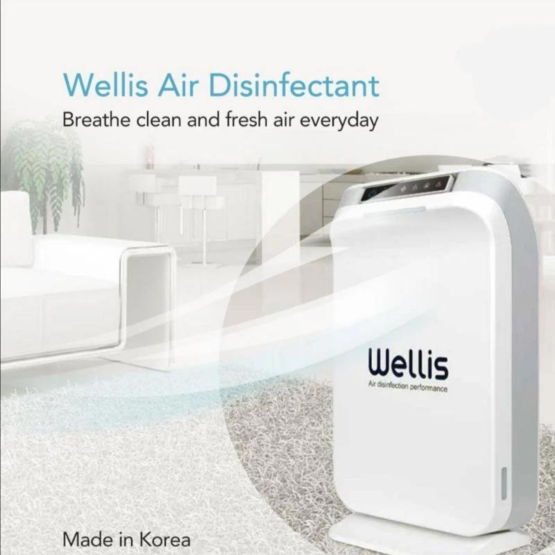 Wellis Air Disinfectant with 1 Cartridge