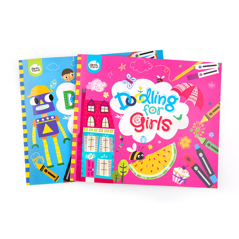 Joan Miro Doodling Book for Girls