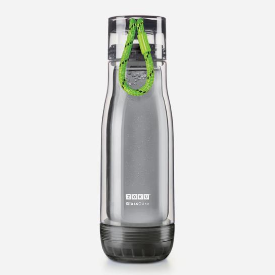 Zoku Glass Core Active Bottle 16oz