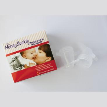 HoneySuckle Breast Pump Adapter pair