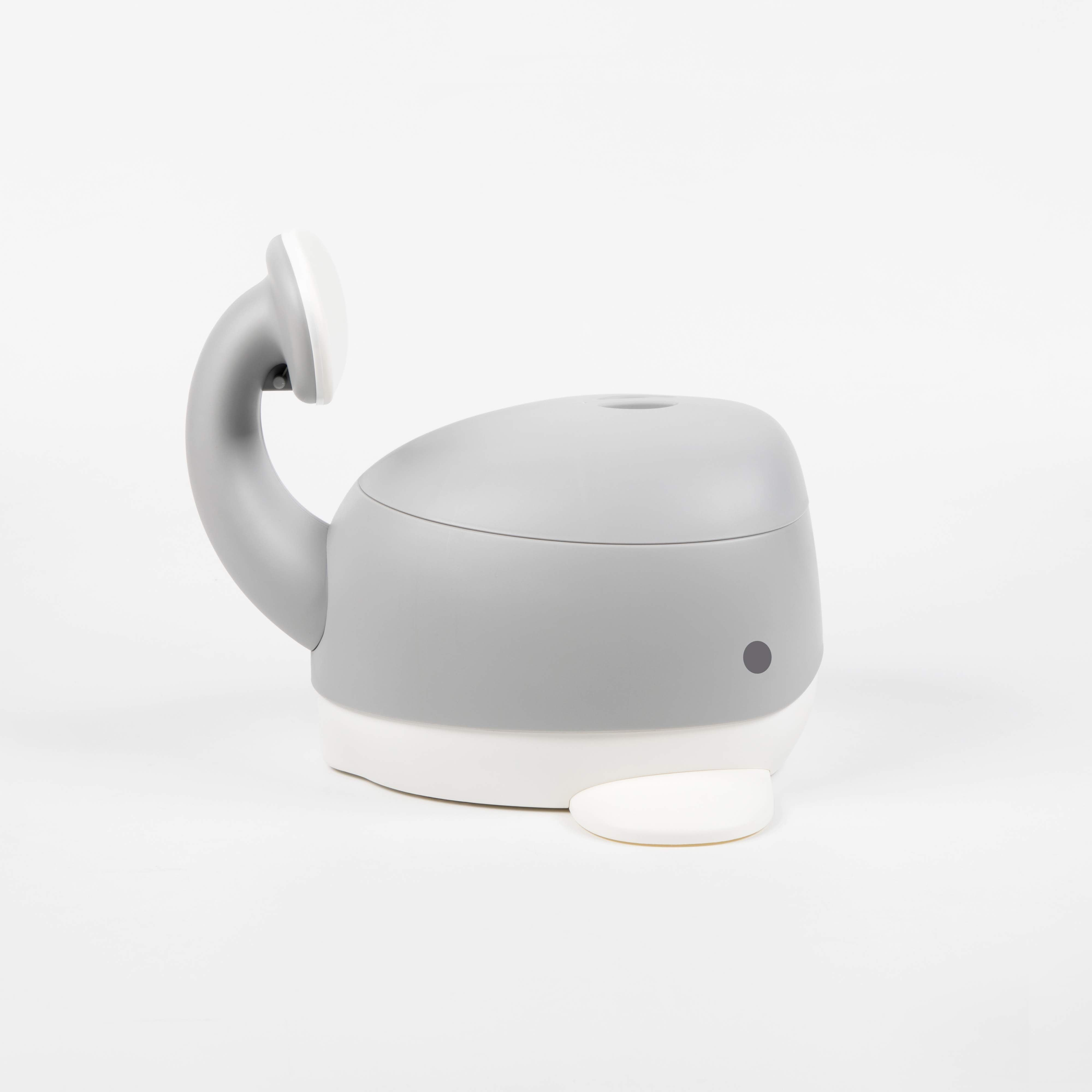 Bonjour Baby Whale Potty Gray