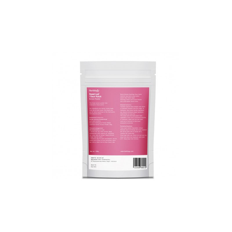 Herbilogy Sweet Leaf Extract Powder