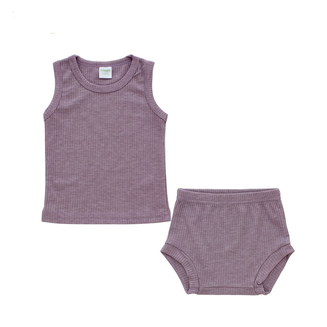 Bamberry Baby Top and Bloomer Set 12months | Sleeveless