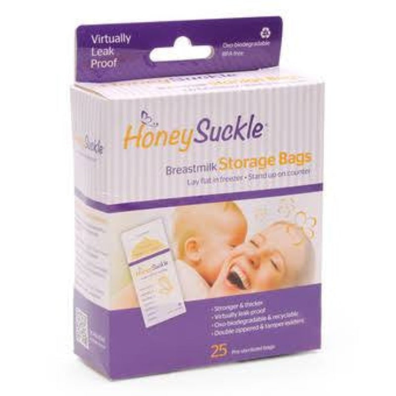 HoneySuckle Milk Storage Bags 6oz. 25s