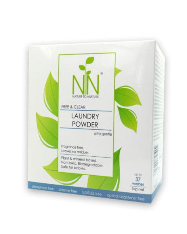 Nature to Nurture Laundry Powder Ultra Gentle 1kg