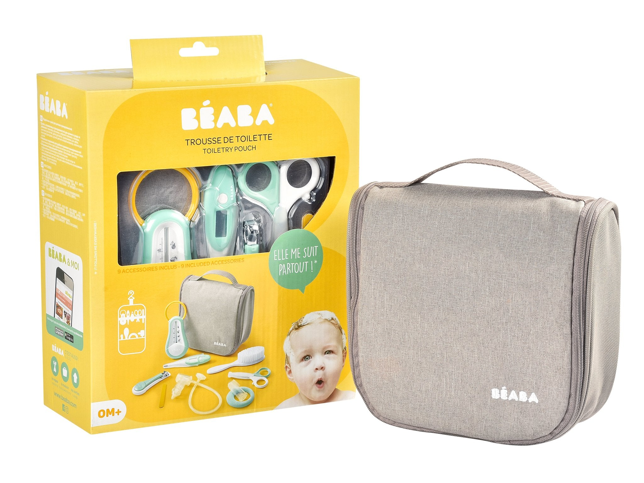 Beaba Hanging Toiletry Pouch
