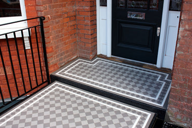 Ennerdale 70 Anthracite/Grey/White, Standard Classic border