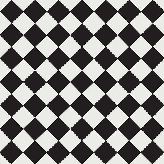 Ennerdale 100 BlackWhite Geometric Tile Design Original Features