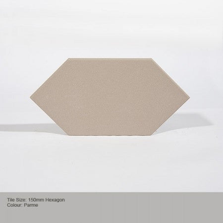 Hexagon Tile - Parme