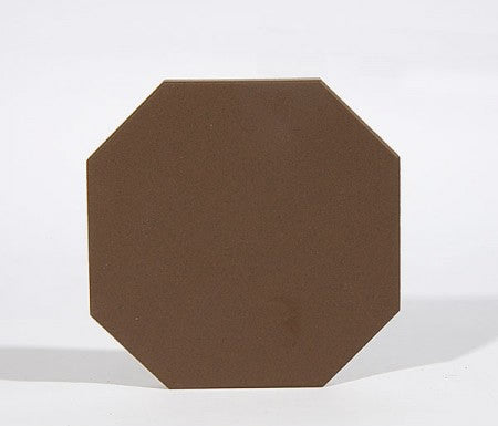 Octagon Tile - Brown