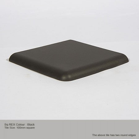 Square REX Tile - Black