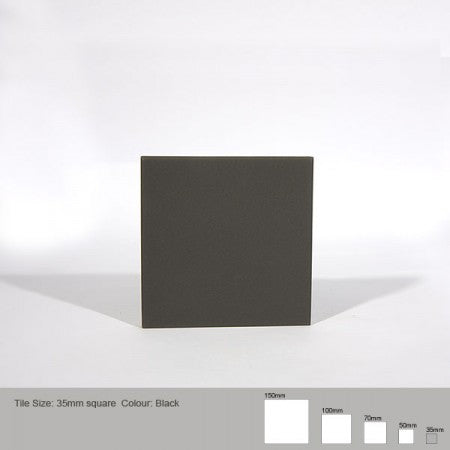 Square Tile - Black
