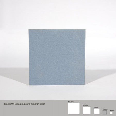 Square Tile - Blue