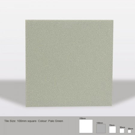 Square Tile - Pale Green