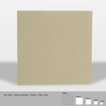 Square Tile - Pale Grey