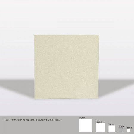 Square Tile - Pearl Grey