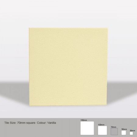 Square Tile - Vanilla