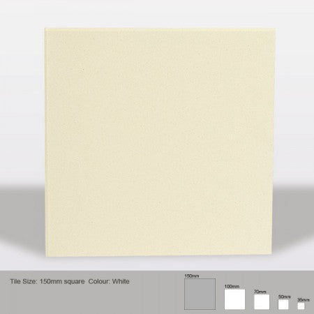 Square Tile - White