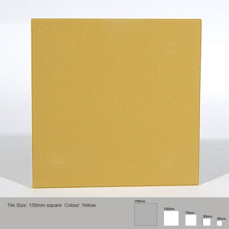 Square Tile - Yellow