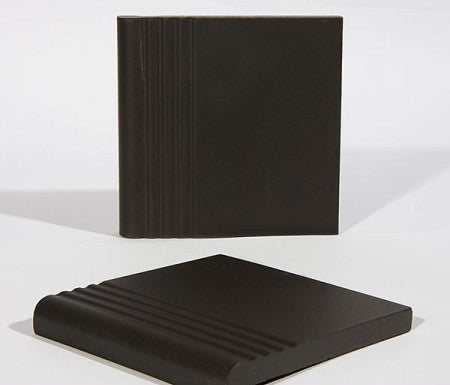 Step Tread Tile - Black