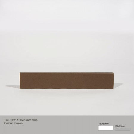 Rectangle Tile - Brown