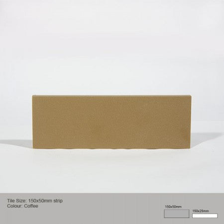Rectangle Tile - Coffee